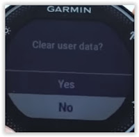 How To Reset Garmin Forerunner 230 235 To The Default Factory
