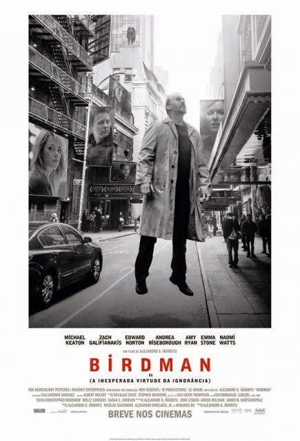 Review - Birdman ou (A Inesperada Virtude da Ignorância)