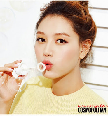 Jaekyung Rainbow - Cosmopolitan Magazine November Issue 2014