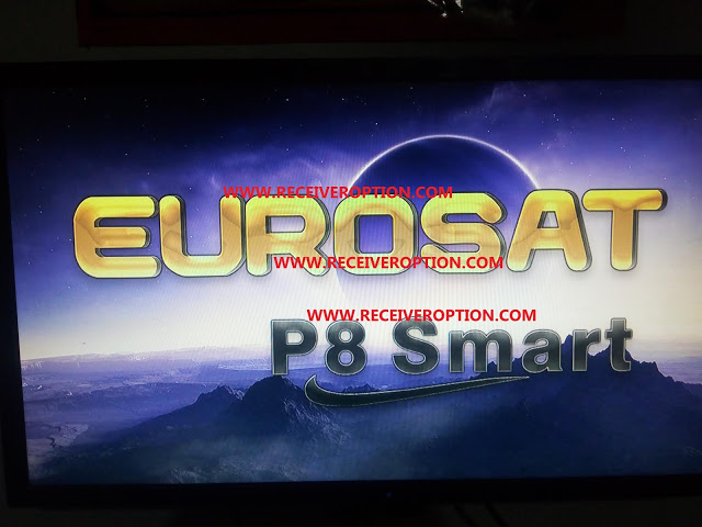 EUROSAT P8 SMART HD RECEIVER POWERVU KEY LATEST UPDATE