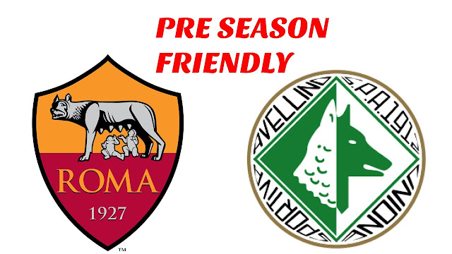 AS Roma vs AS Avellino Full Match Replay 20 July 2018