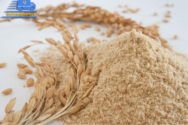 cám gạo nguyên chất dưỡng da