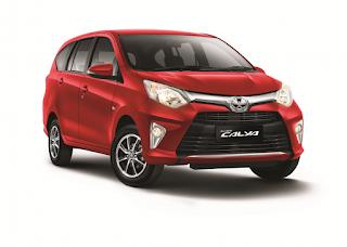 Harga Toyota Calya Pekanbaru dan Paket Kredit Dp RinganTerbaru