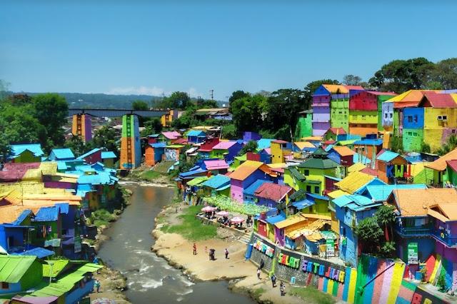 Kampung Wisata Jodipan - Salika Travel