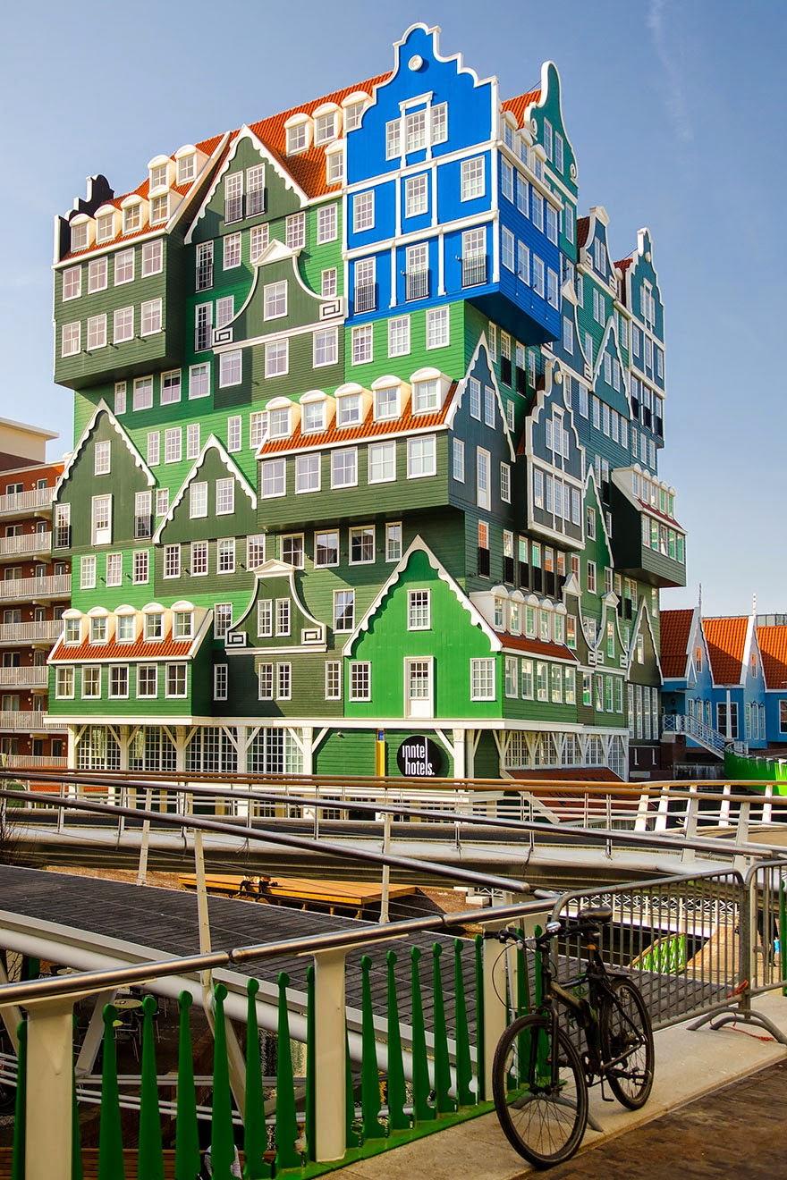 17. Zaan Inn Hotel, Netherlands - 26 Of The Coolest Hotels In The Whole Wide World