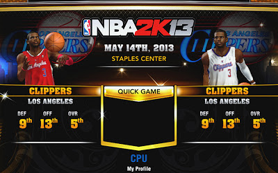 NBA 2K13 Clippers Accessories Fix