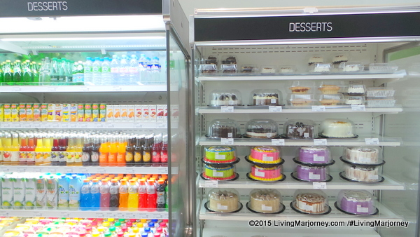 Dessert-Section-at-Merkado Supermarket In UP Town Center
