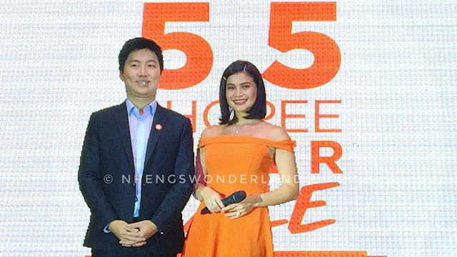 Anne Curtis is the First Brand Ambassador of Shoppe PH!