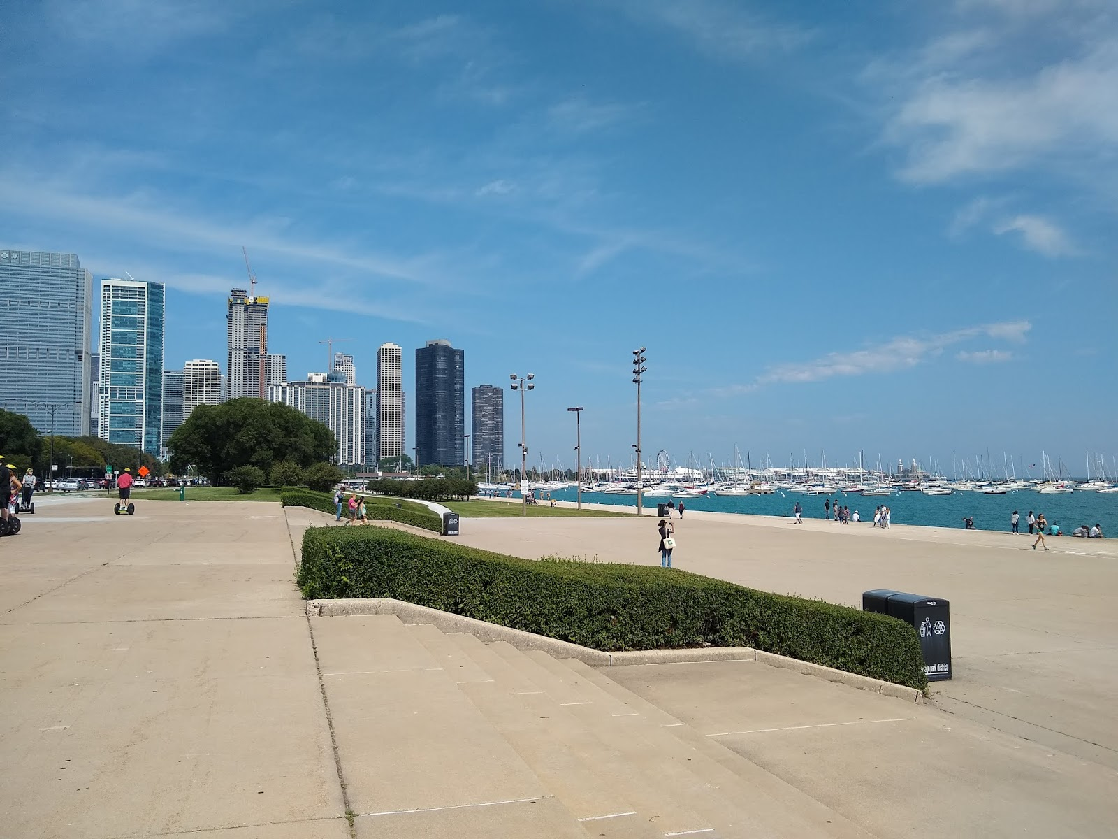 Обои небоскребы, мичиган, chicago, чикаго, иллиноис. Города foto 6