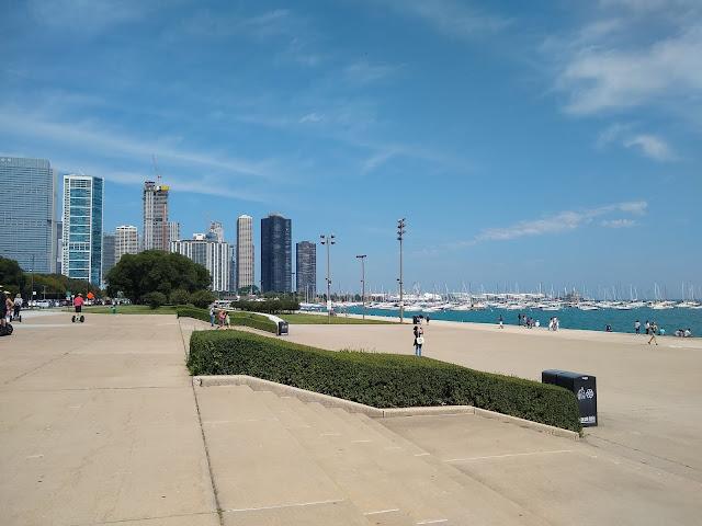 Чикаго. Побережье озера Мичиган