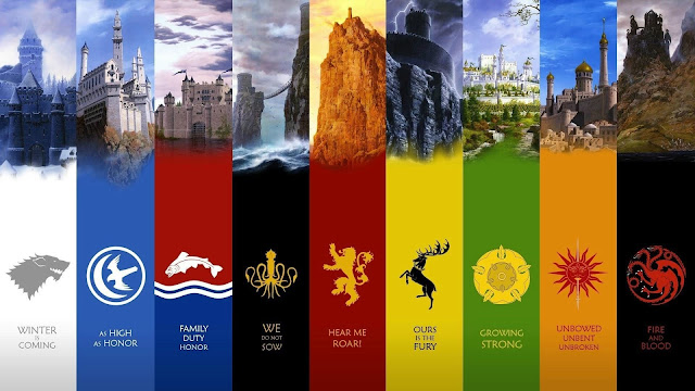 Game of Thrones Castles