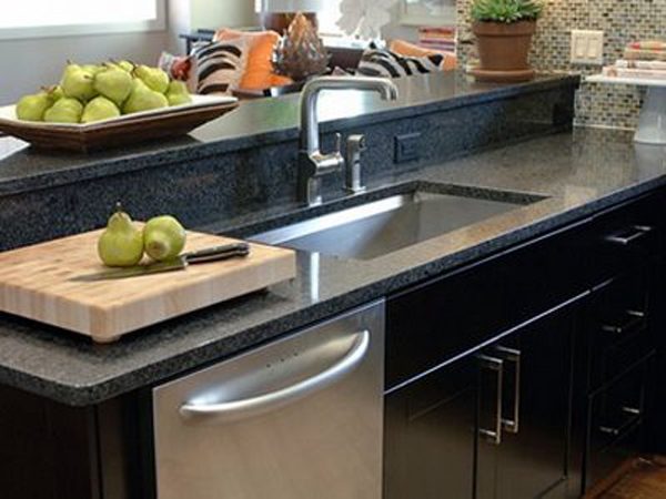Backsplash Ideas for Black Granite Countertops @ The ... on Black Granite Countertops With Backsplash  id=43979