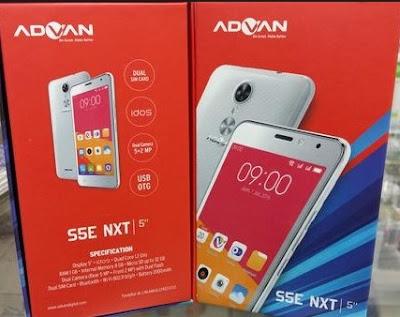 Harga HP Advan S5E NXT Tahun 2017 Lengkap Dengan Spesifikasi USB OTG RAM 1GB Harga Rp. 700 Ribuan
