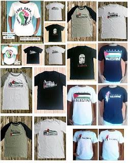 Katalog Harga Kaos Palestina Murah
