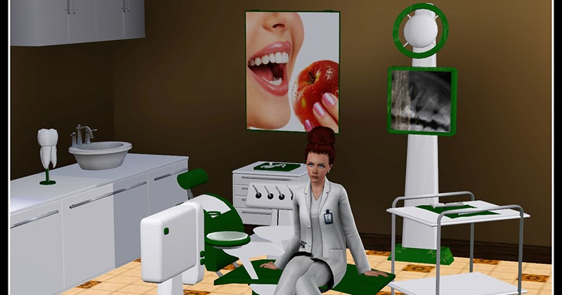 My Sims 3 Blog Dentist Set By Anarchy Cat