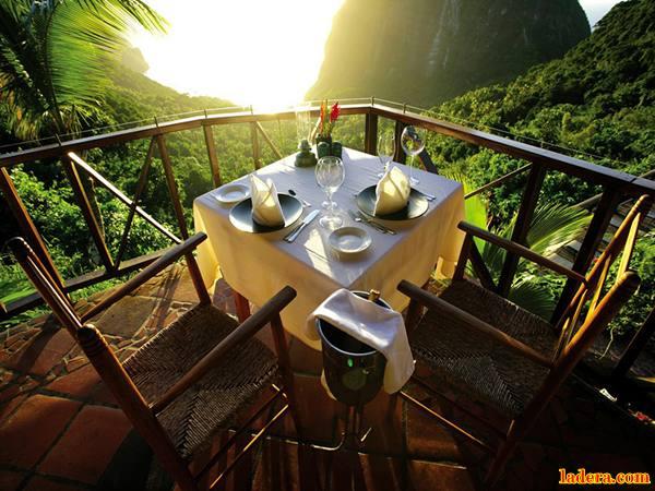 Hotel Ladera Resort, St. Lucia