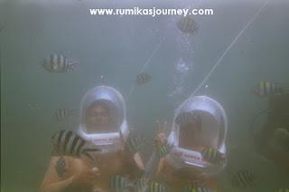 honeymoon di bali dengan aktivitas seawalker