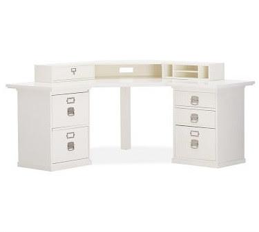 Home Office Bedford Smart Technology Corner Desk Hutch