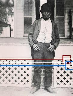 Liberia emancipation from slavery. Former slave at Live Oak Plantation Leon County, Florida