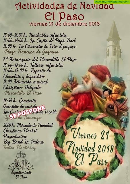 Actividades para el próximo viernes 21 de diciembre en El Paso