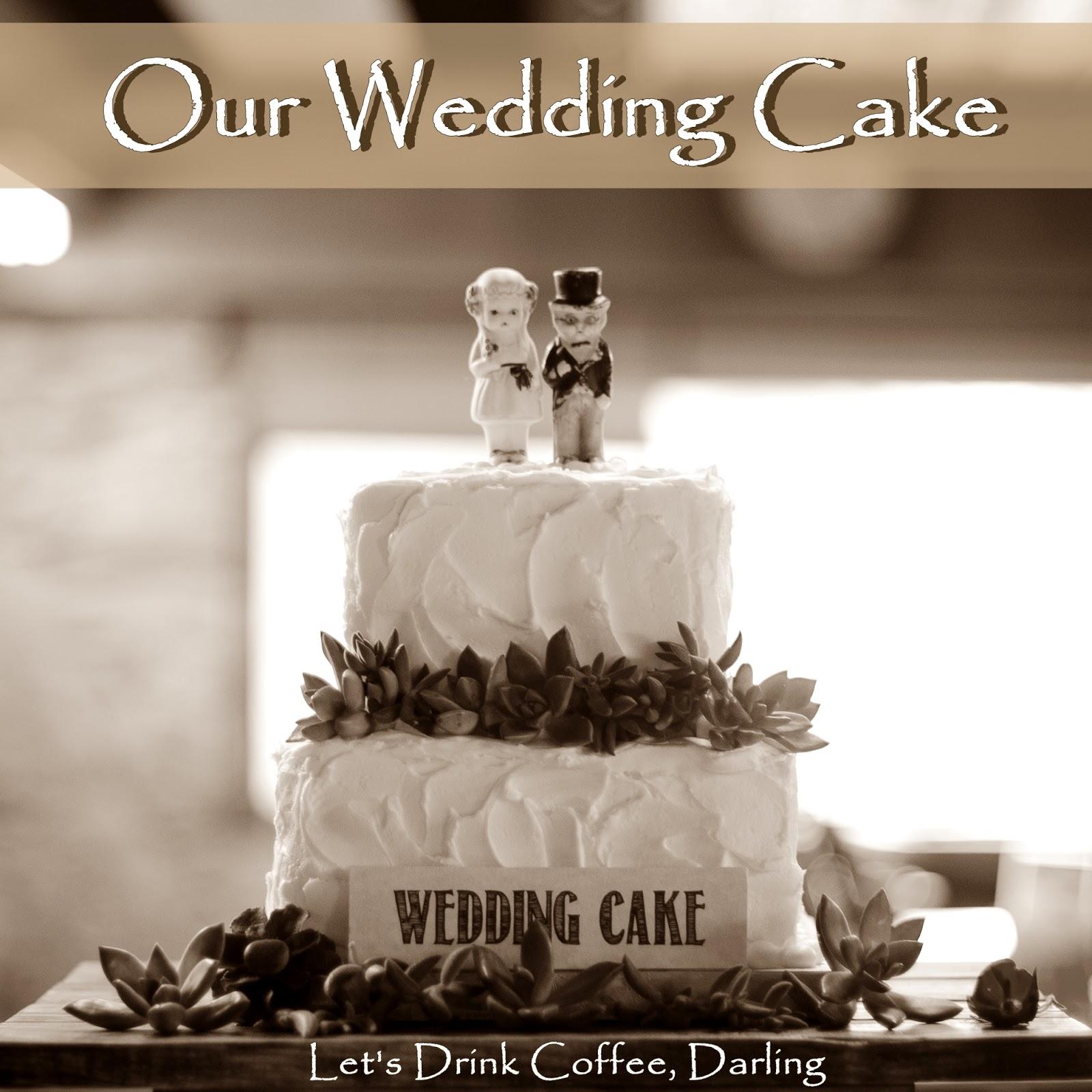Let's Drink Coffee, Darling: Wedding Cake, Cupcakes