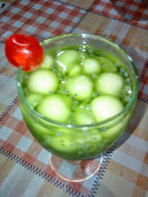 Bahan dan Cara Membuat Minuman Olahan Melon