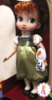 Малышка Анна из мультика Холодное сердце, сестра Эльзы
