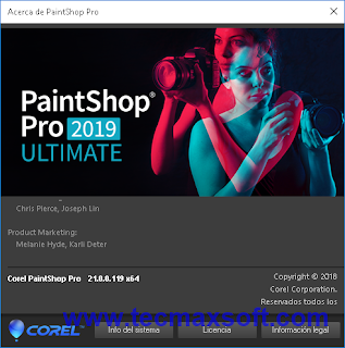 Corel PaintShop Pro 2019 Ultimate serial free - captura 4