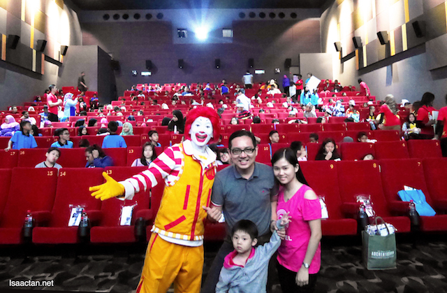 Ronald McDonald House Charities Malaysia (RMHC) Smurfs Charity Movie Screening