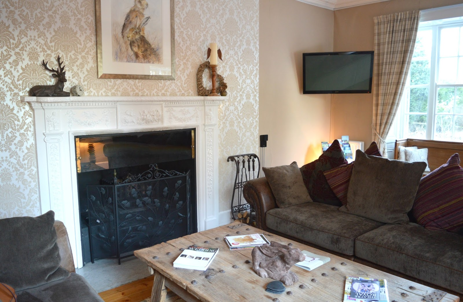 The Grange Bed and Breakfast in Northumberland - Guest Lounge