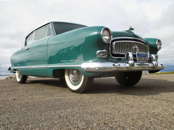 American Antique Car, 1954 Nash Statesman