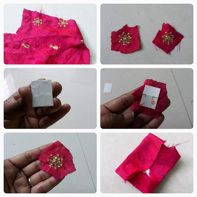 DIY Easy Cloth/Fabric Earrings