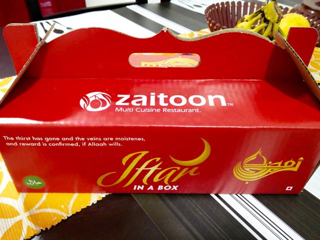 Zaitoon's Iftar Box