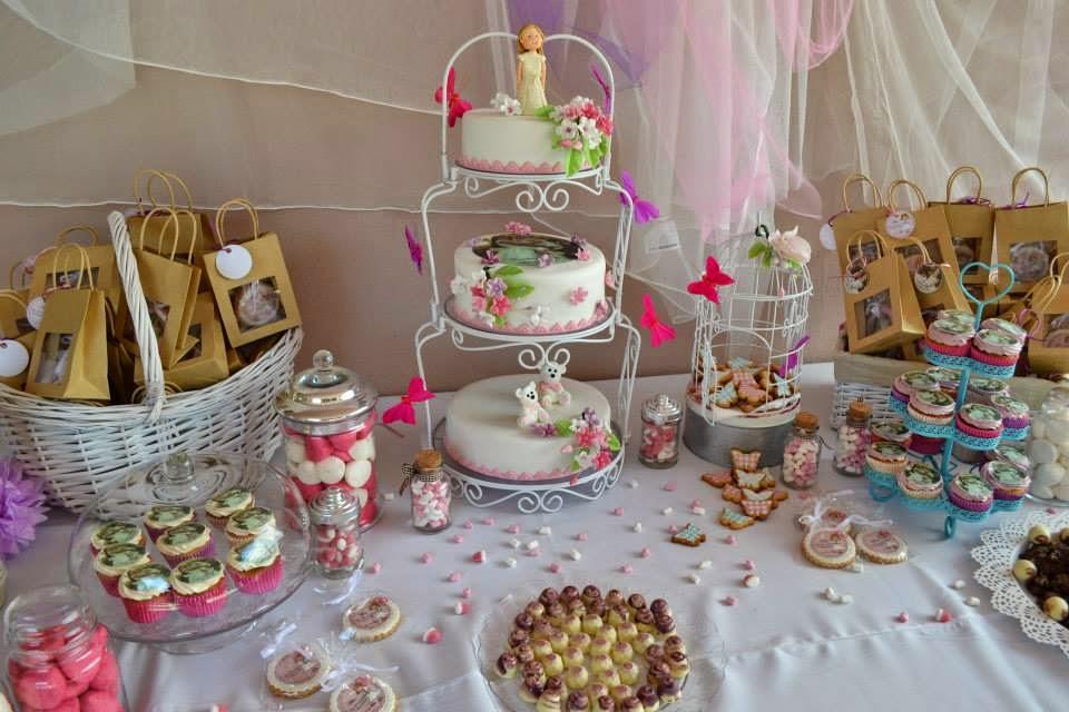 Fotopastel como hacer una mesa dulce y no morir en el intento - Preparar mesa dulce para comunion ...