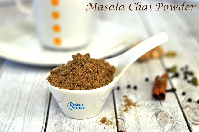 Masala Chaai Recipe | Masala Tea Recipe | Homemade Masala Chaai Powder Recipe