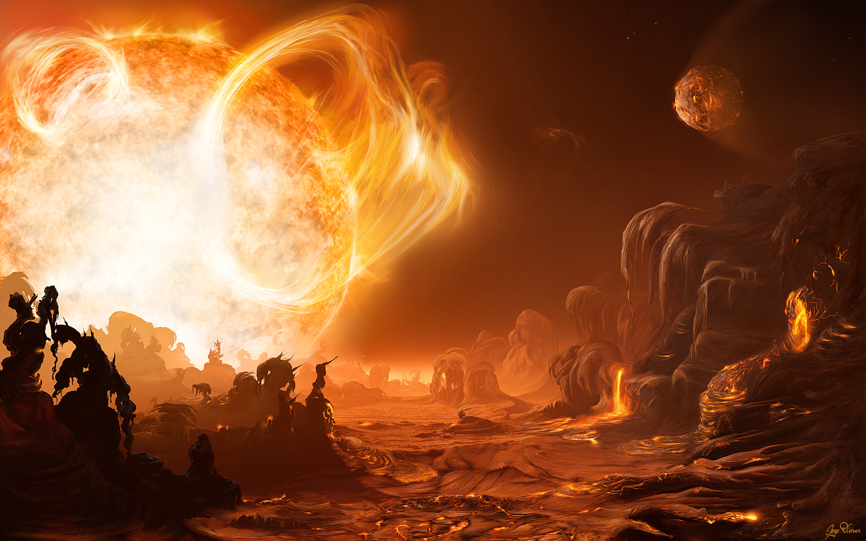depiction of solar storm 1859 - photo #44