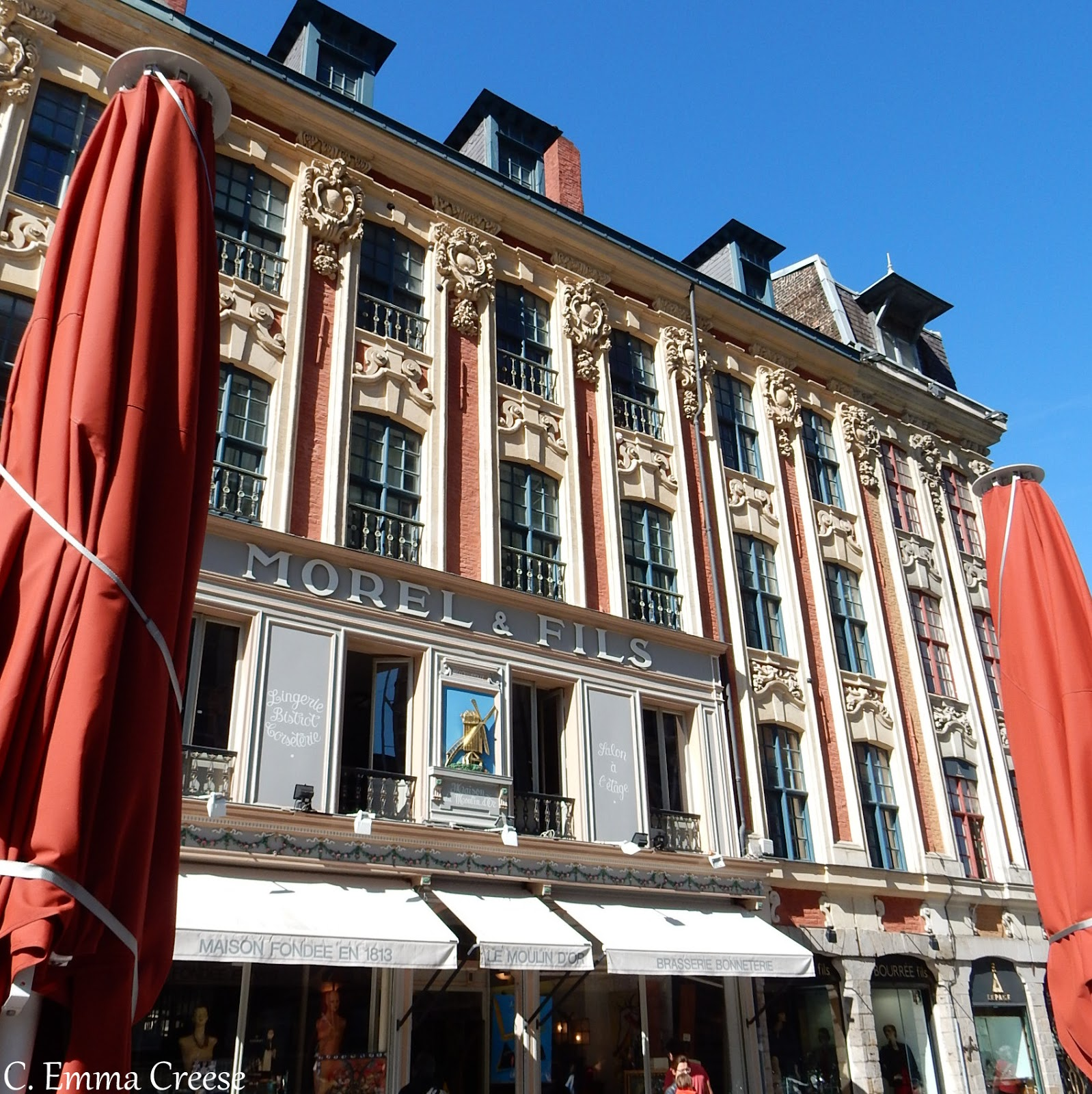 Morel and Fils What to do to in Lille France