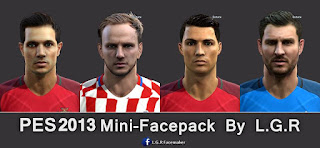 Mini Facepack PES 2013 By L.G.R