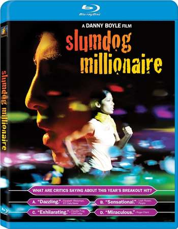 Poster Of Slumdog Millionaire 2008 Dual Audio 350MB BRRip 480p ESubs Free Download Watch Online Worldfree4u