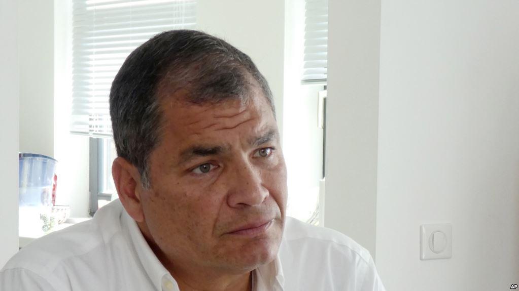 Fundación Eloy Alfaro, creada por Correa, recibió 281.000 dólares según informes preliminares / AP