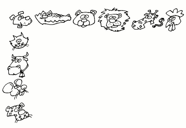 Bordes de paginas de animales