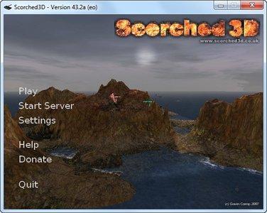 تحميل لعبة Scorched 3D المحروقة 3D من الموقع الاصلى مباشر