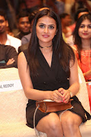 Actress Shraddha Srinath Stills in Black Short Dress at SIIMA Short Film Awards 2017 .COM 0055.JPG