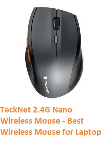 TeckNet 2.4G Nano Wireless Mouse - Best Wireless Mouse for Laptop