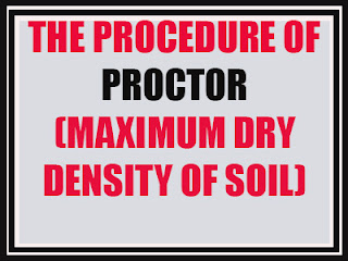 Proctor test (Maximum Dry Density of Soil)  AASHTO T 180-74