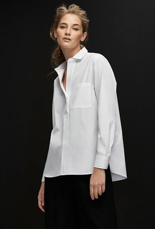 Massimo Dutti y la camisa blanca de mujer en su nueva guía de estilo The White Shirt Guide