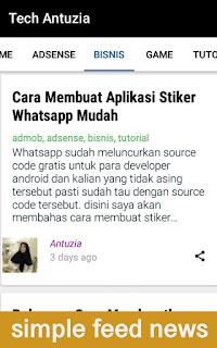 Cara Membuat Aplikasi Blog di Android