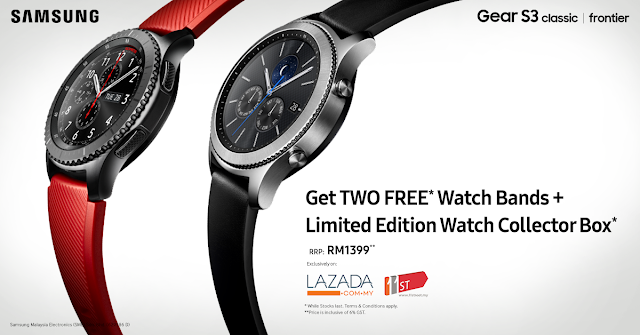 Samsung Mobile Malaysia Samsung Gear S3 Free Watch Bands Collector Box