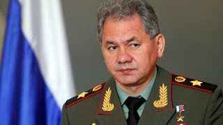 Russian Minister of Defense Sergei Shoygu