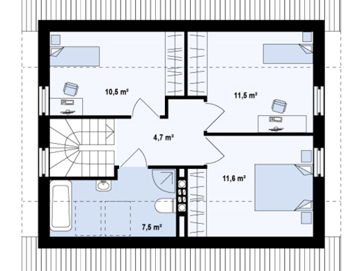 Everyone dreams of his own private house. When you talk about house plans and interior layout you have to point out the benefits of such projects. These three ready-to-build house plans will help you make the right plan choice, so modifying the plan is easy for you.